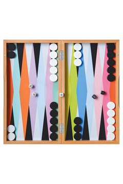 Colourful Backgammon Set 1