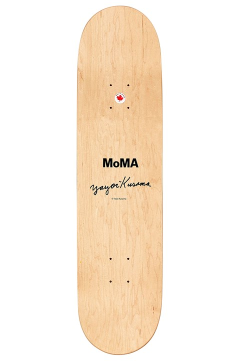 Kusama Skateboard - black