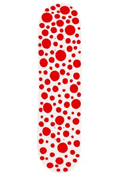 Kusama Skateboard RED 1