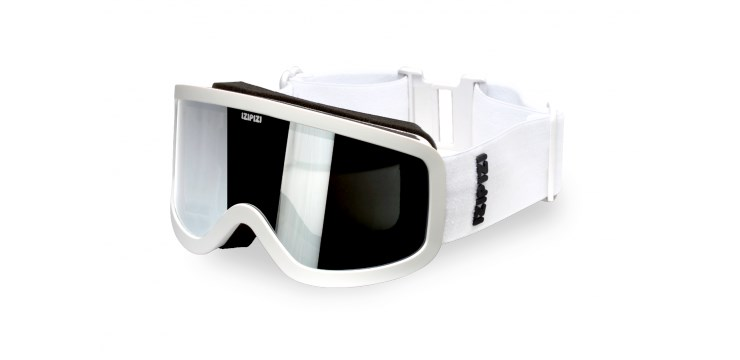 Sun Snow White Snow Goggles - Small