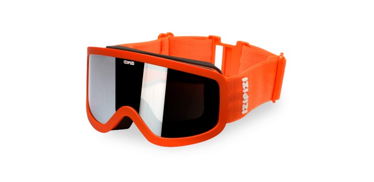 Sun Snow Orange Snow Goggles - Small