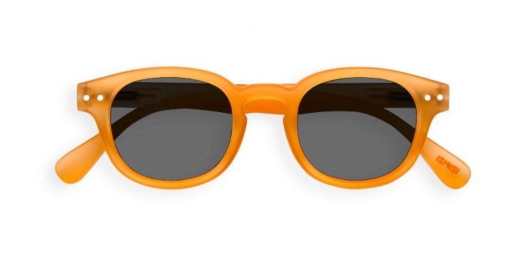 Sun Junior #C Orange Flash Sunglasses