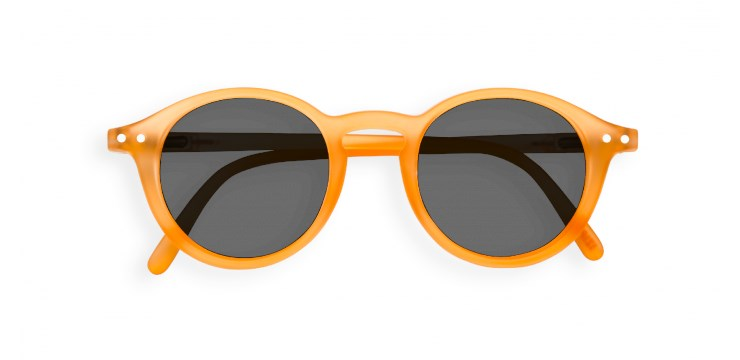 Sun Junior #D Orange Flash Sunglasses