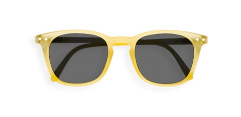 Sun Junior #E Yellow Chrome Sunglasses - yellow crome