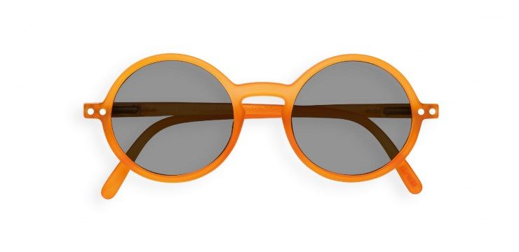 Sun Junior #G Orange Flash Sunglasses