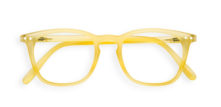 Screen #E Yellow Chrome Screen Glasses