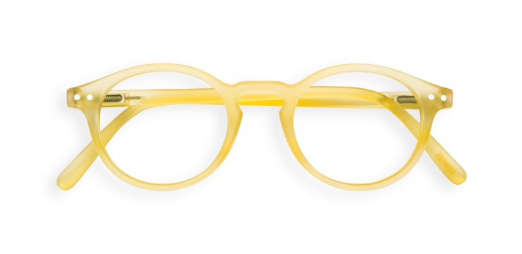 Screen #H Yellow Chrome Screen Glasses