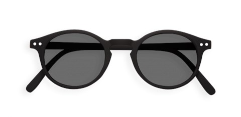 Sun #H Black Sunglasses - black