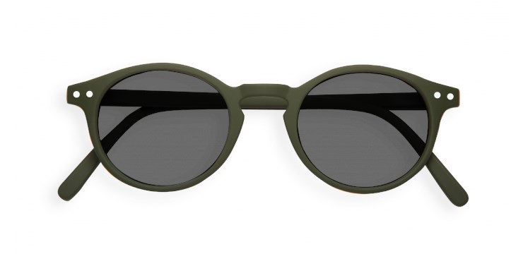 Sun #H Khaki Green Sunglasses