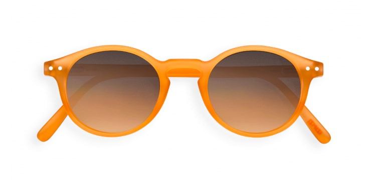 Sun #H Orange Flash Sunglasses