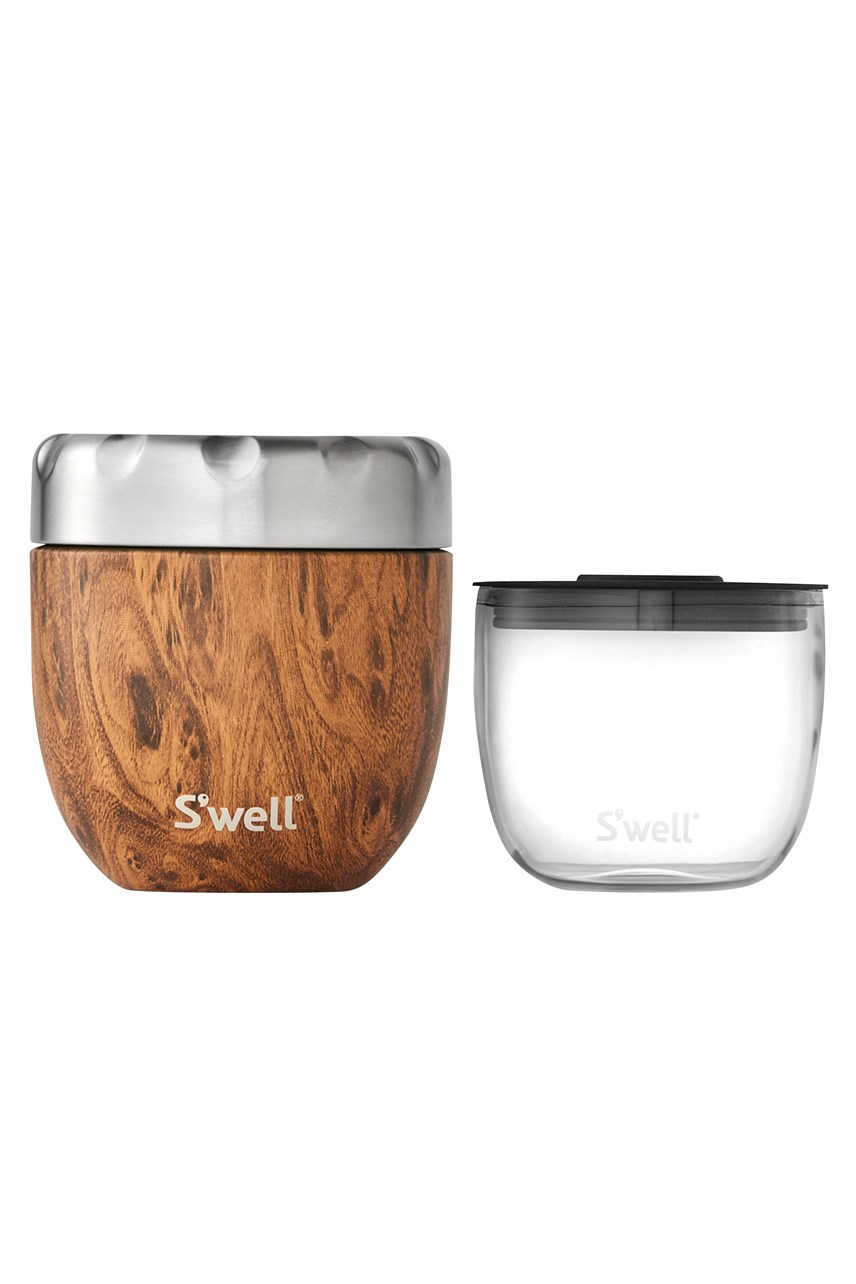 Eats Wood Collection Insulated Food Container - 470mL