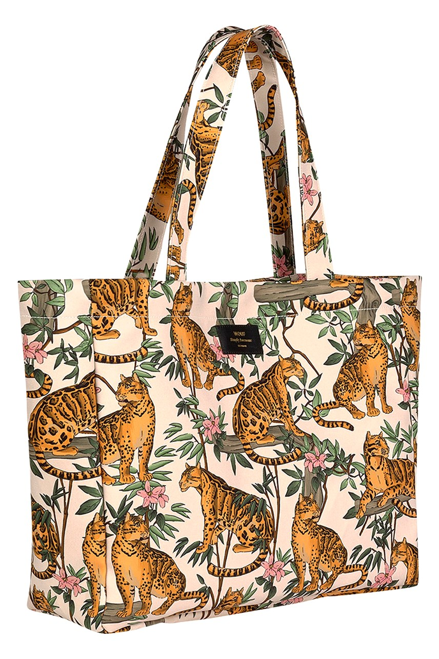 Lazy Jungle Large Tote