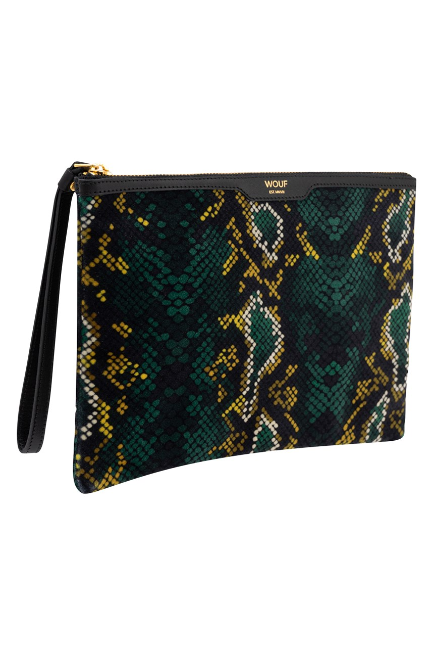 Snakeskin Night Clutch