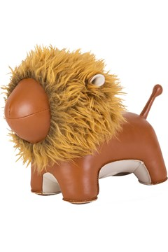 Doorstop Lion Tan - tan
