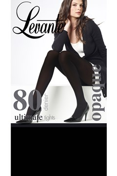 Ultimate 80 Denier Opaque Tights Nero 1