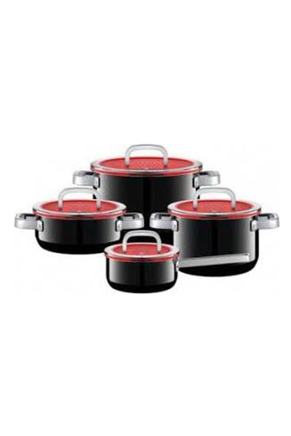 Fusiontec Functional Cookware Set 4 Piece - Black