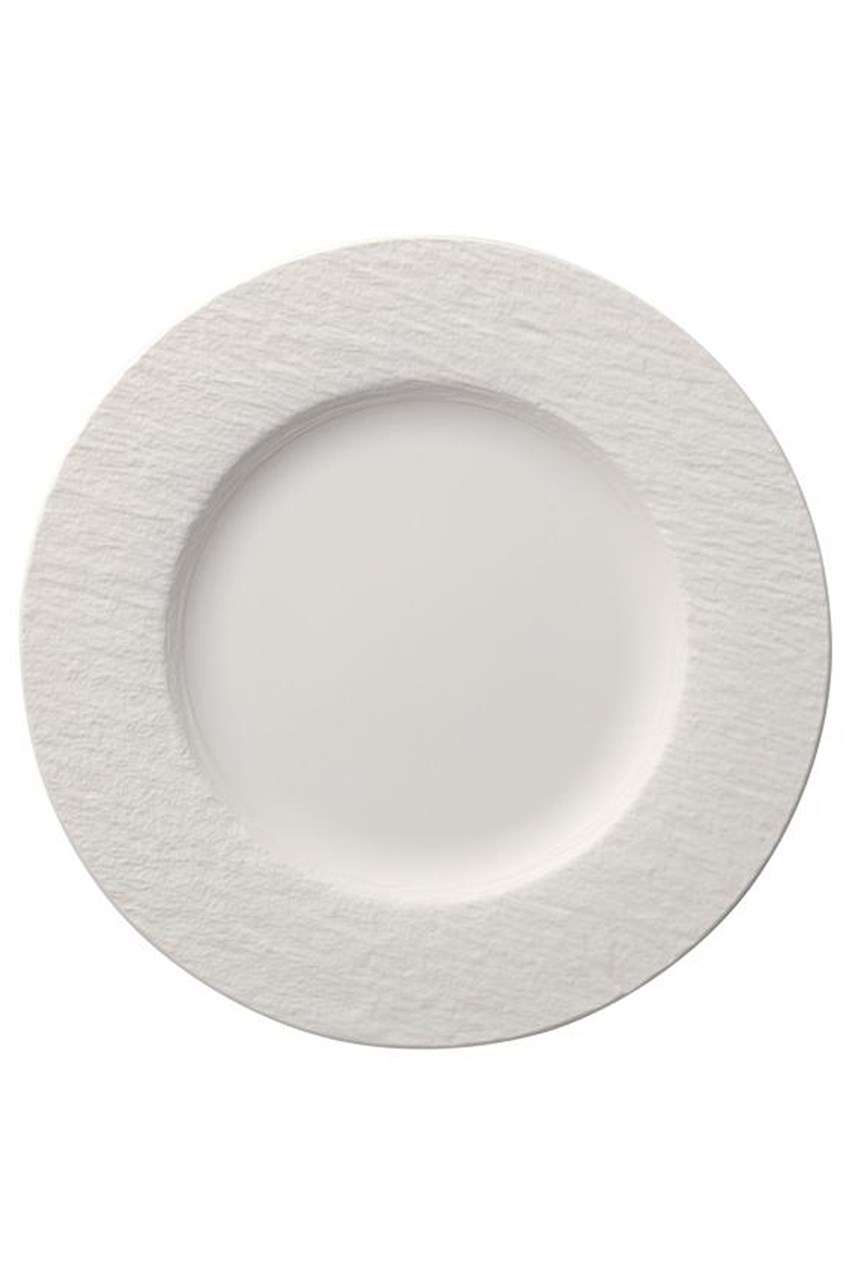 Manufacture Rock Blanc Dinner Plate - 27cm