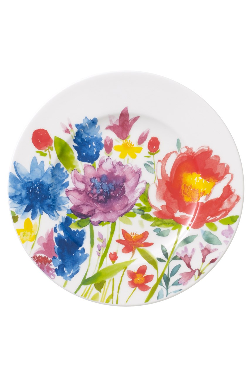 'Anmut' Flowers Bread & Butter Plate