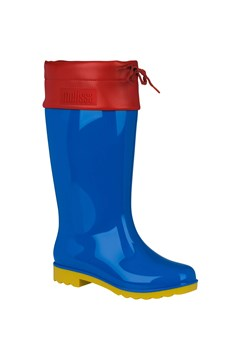Rain Boot BLUE RED 1