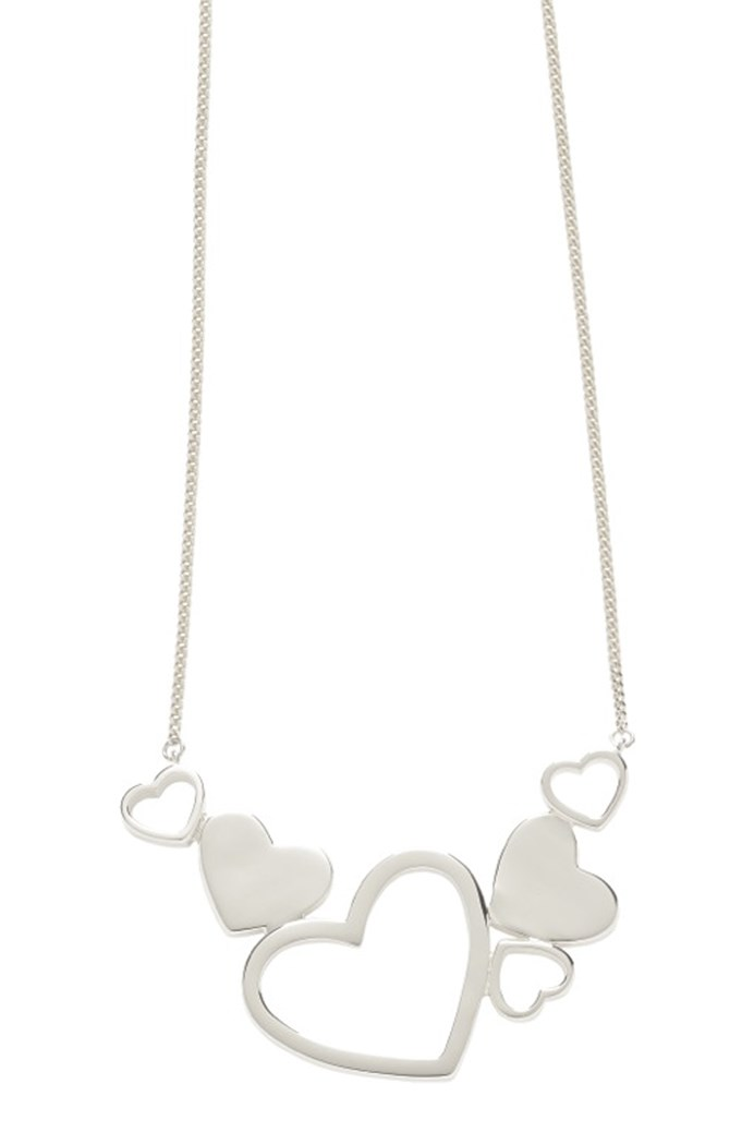'Exploding Heart' Necklace