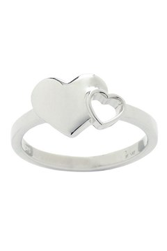 'Exploding Heart' Ring SILVER 1