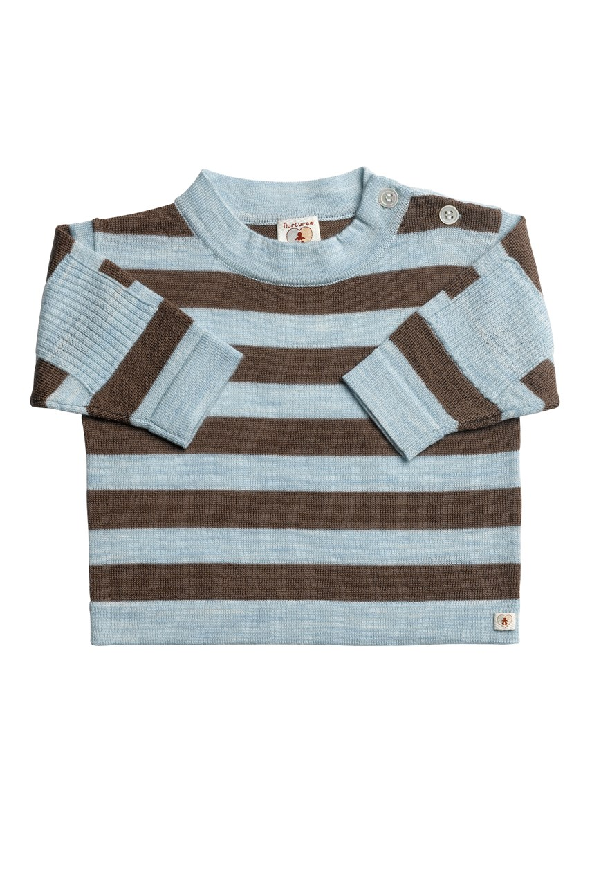 Pure Merino Stripe Top