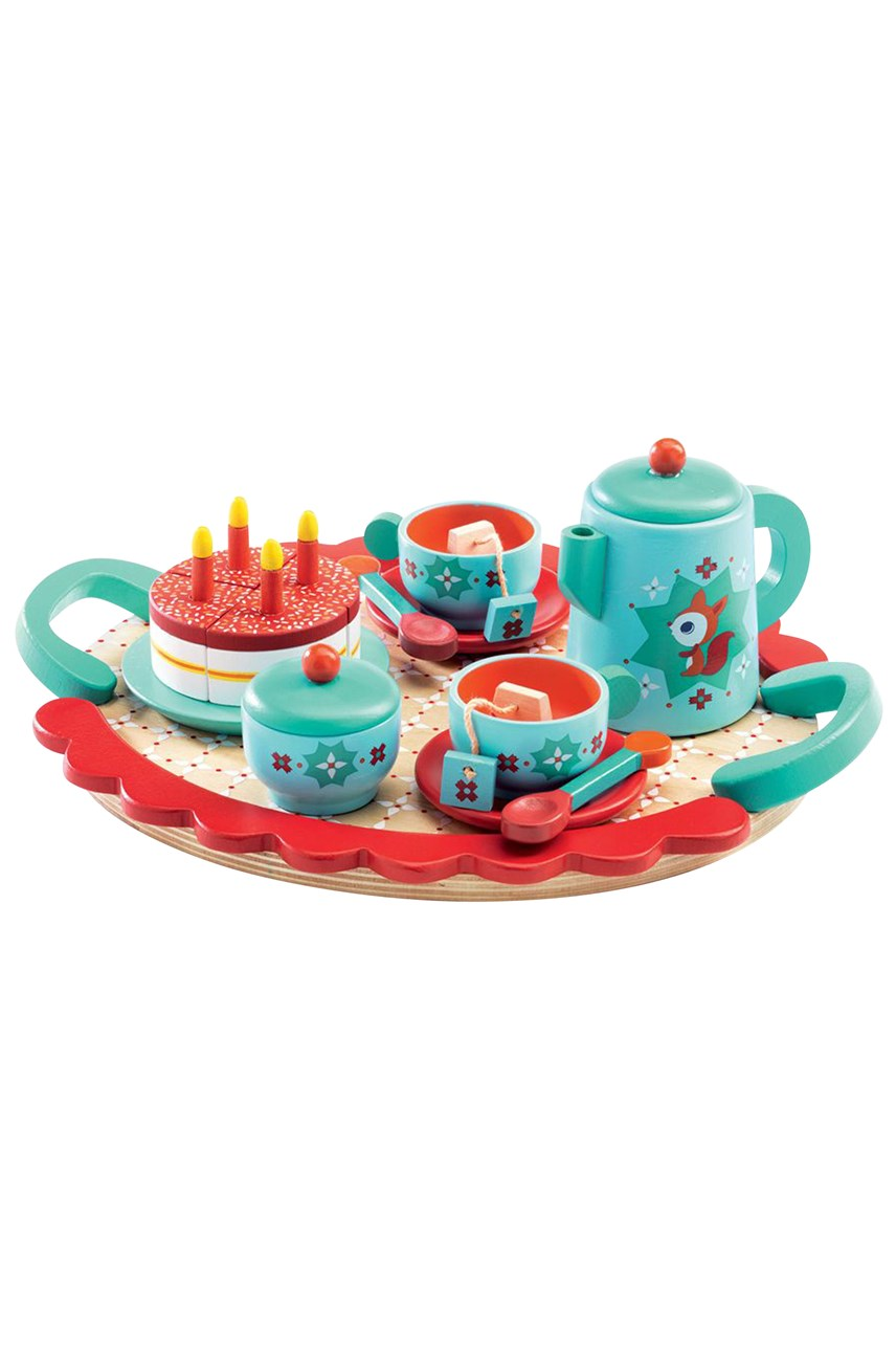 Fox's Party Wooden Tea Set