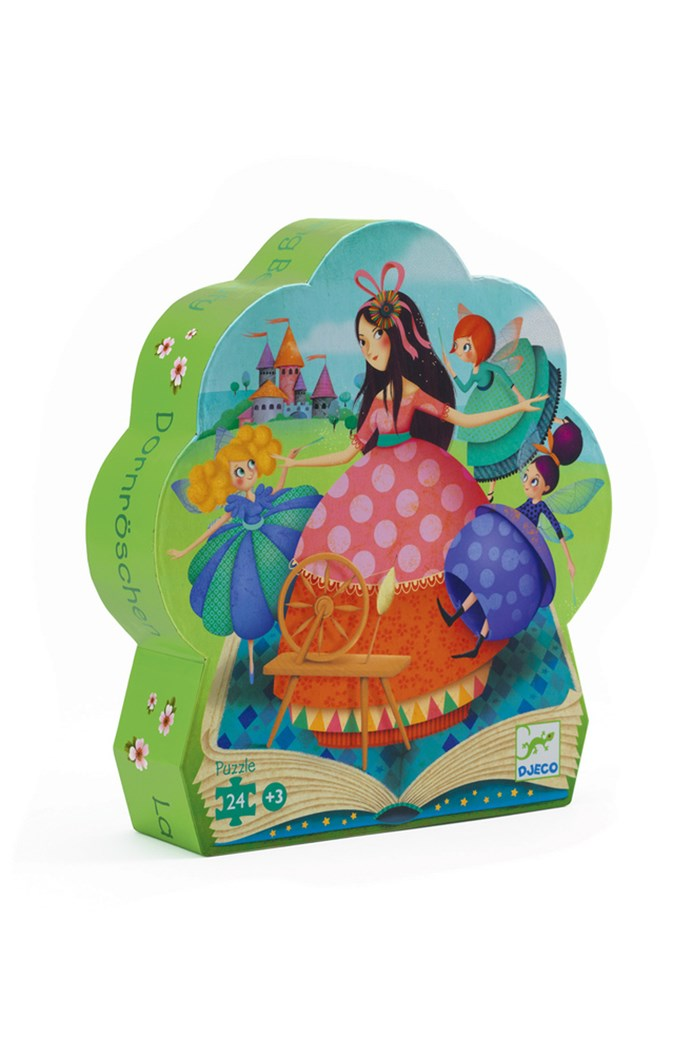 Sleeping Beauty 24-Piece Silhouette Puzzle
