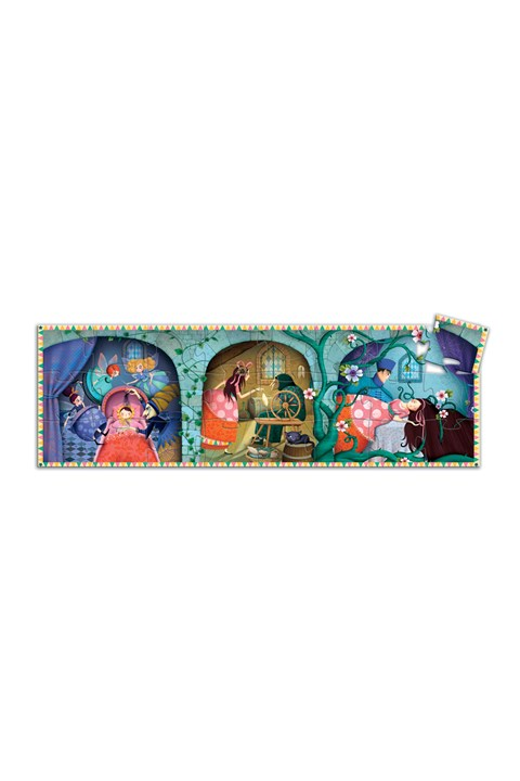 Sleeping Beauty 24-Piece Silhouette Puzzle -