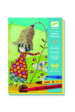 Art By Numbers Flowers Felt Brush Set 1