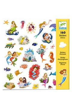 Mermaids Stickers 160 Pack 1