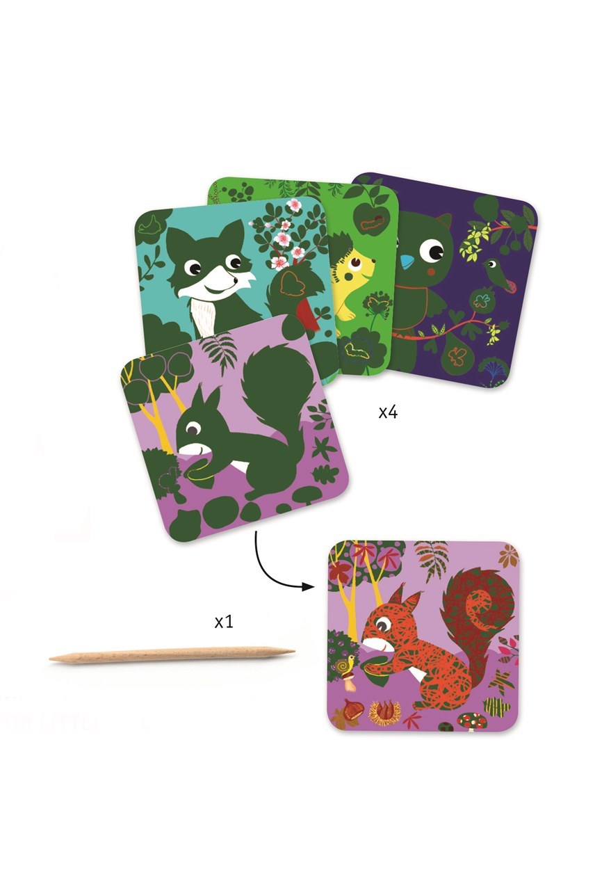 Creatures Scratch Cards