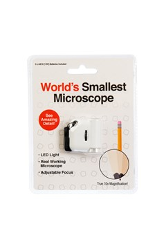 World's Smallest Microscope 1