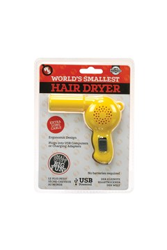 World's Smallest Hair Dryer 1
