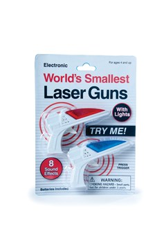 World's Smallest Laser Guns 1