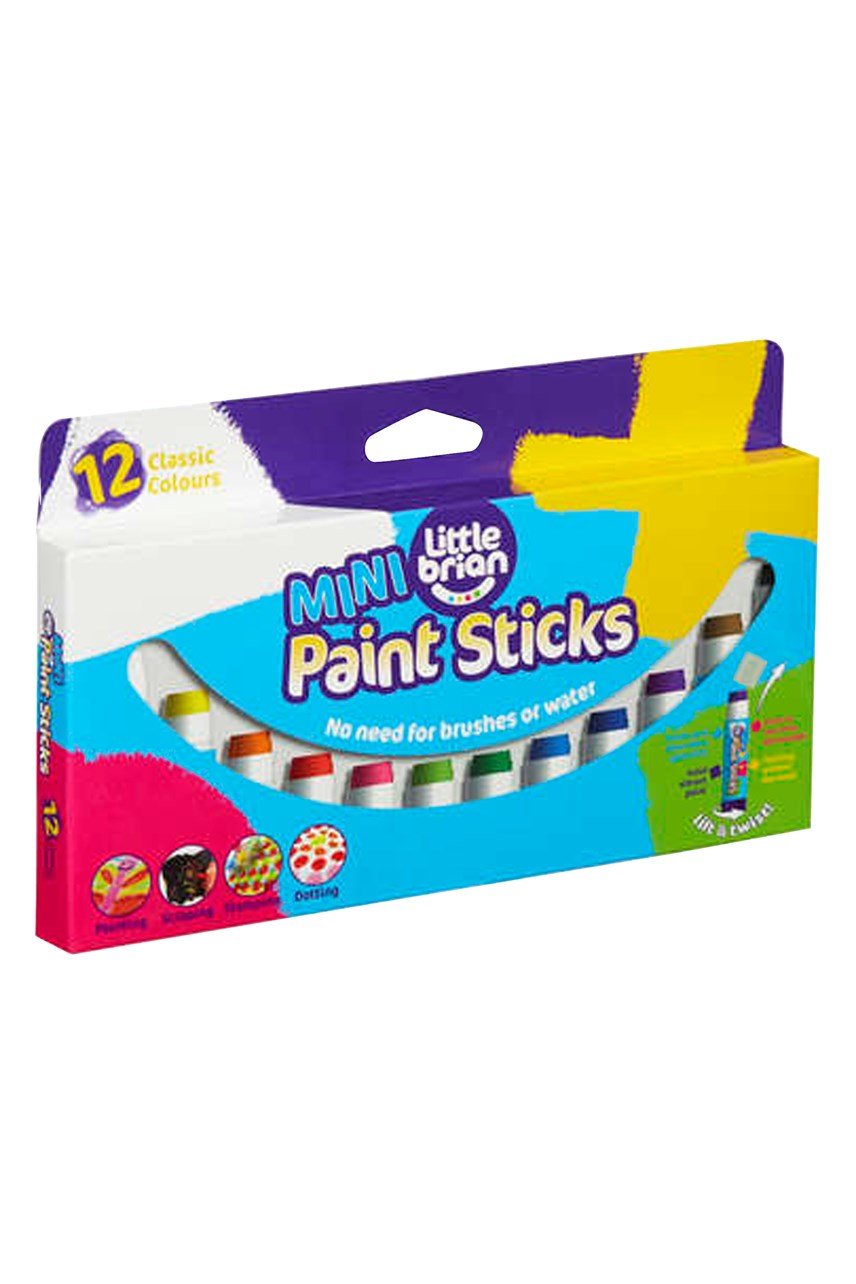 Mini Paint Sticks - 12 Pack