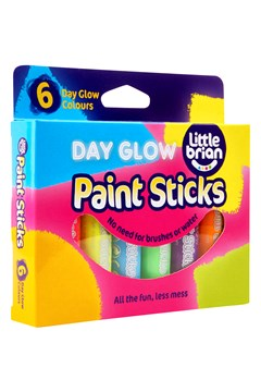 Day Glow Paint Sticks - 6 Pack 1