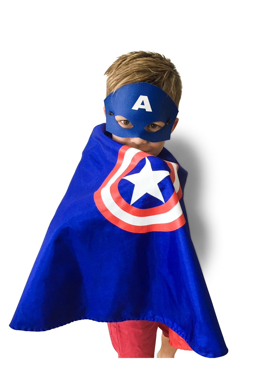 Captain America Cape & Mask