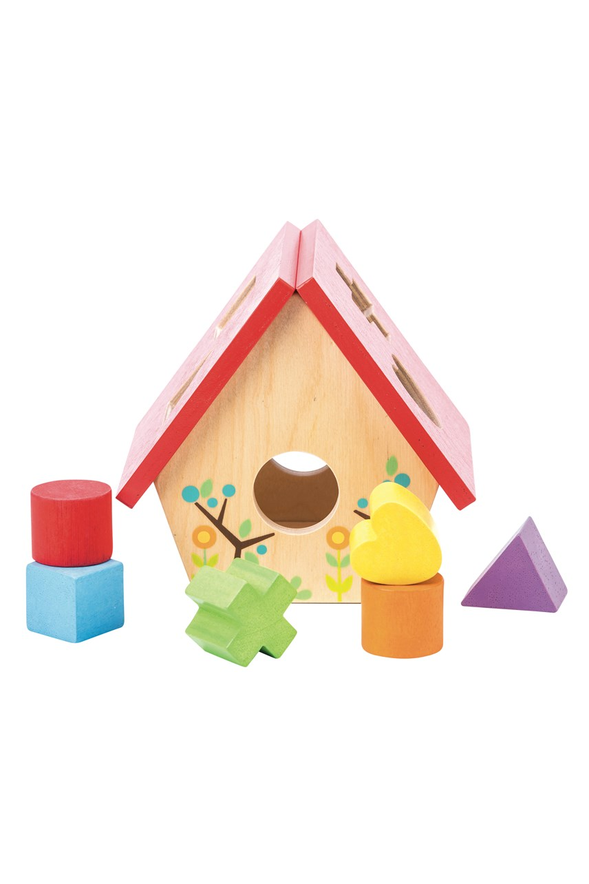 Petilou My Little Bird House Shape Sorter