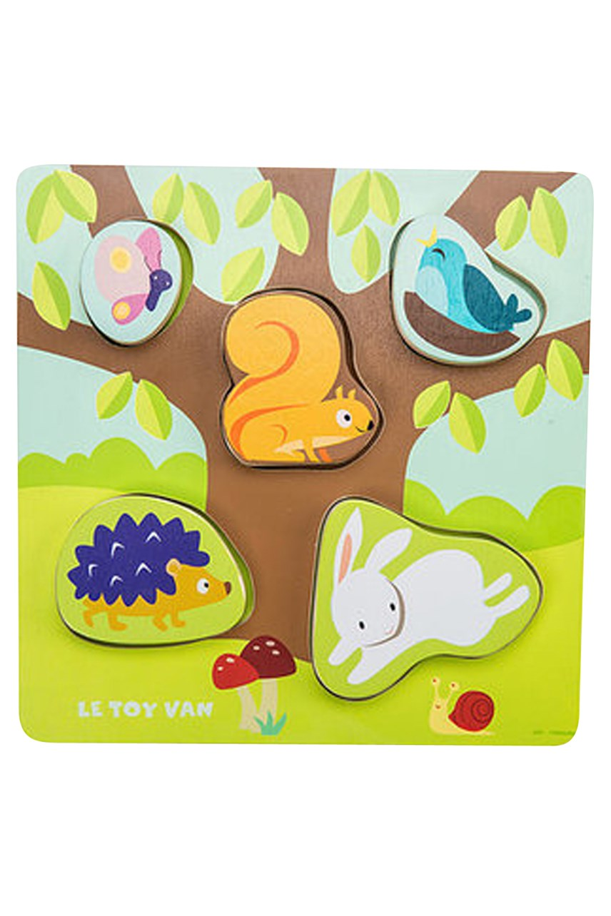 Petilou Puzzle Mama Baby Counting