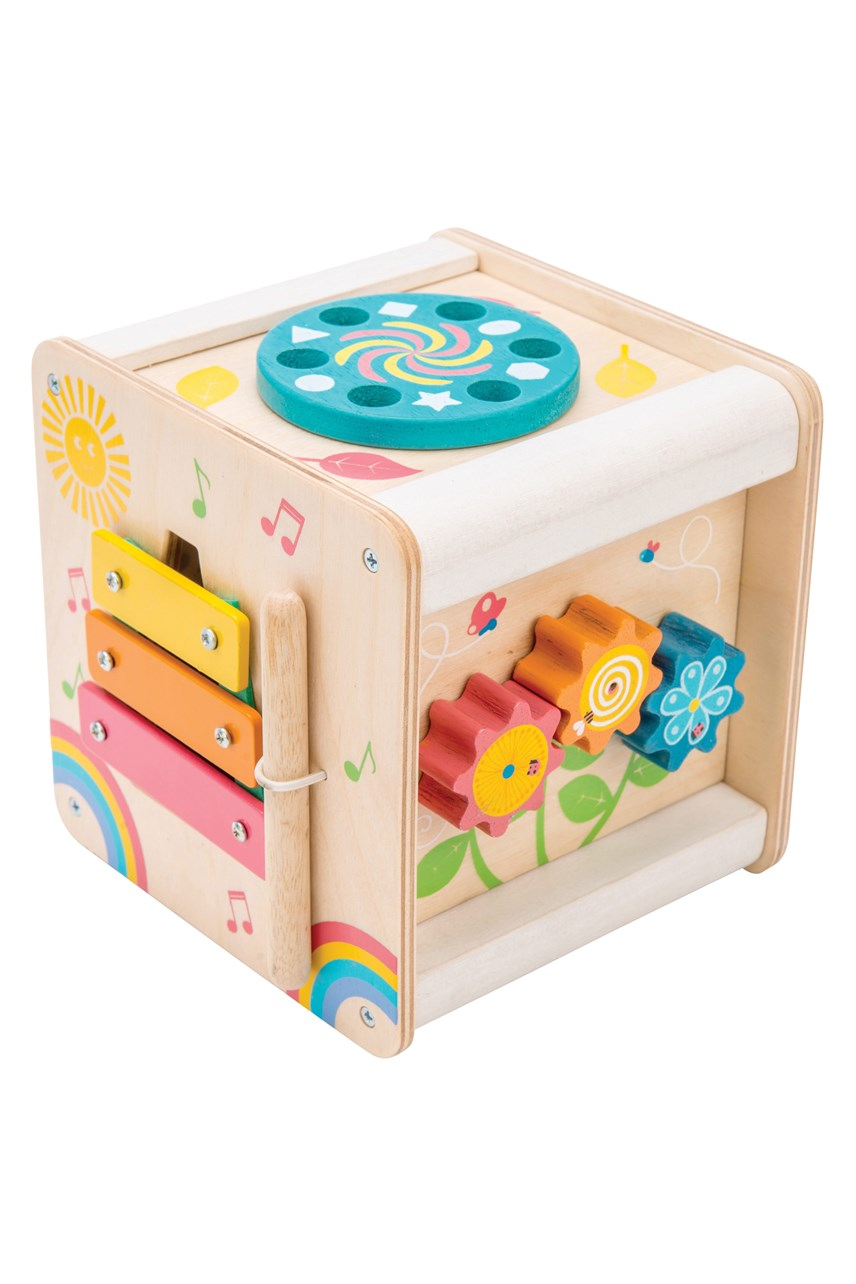 Petilou Petit Activity Cube
