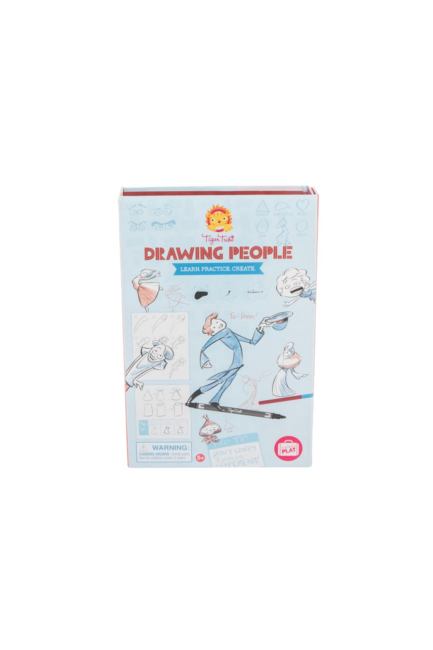 Drawing People - Learn, Practise, Create