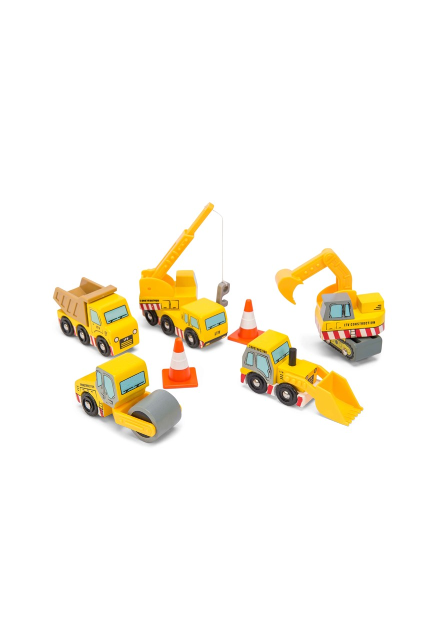 Construction Cars Set