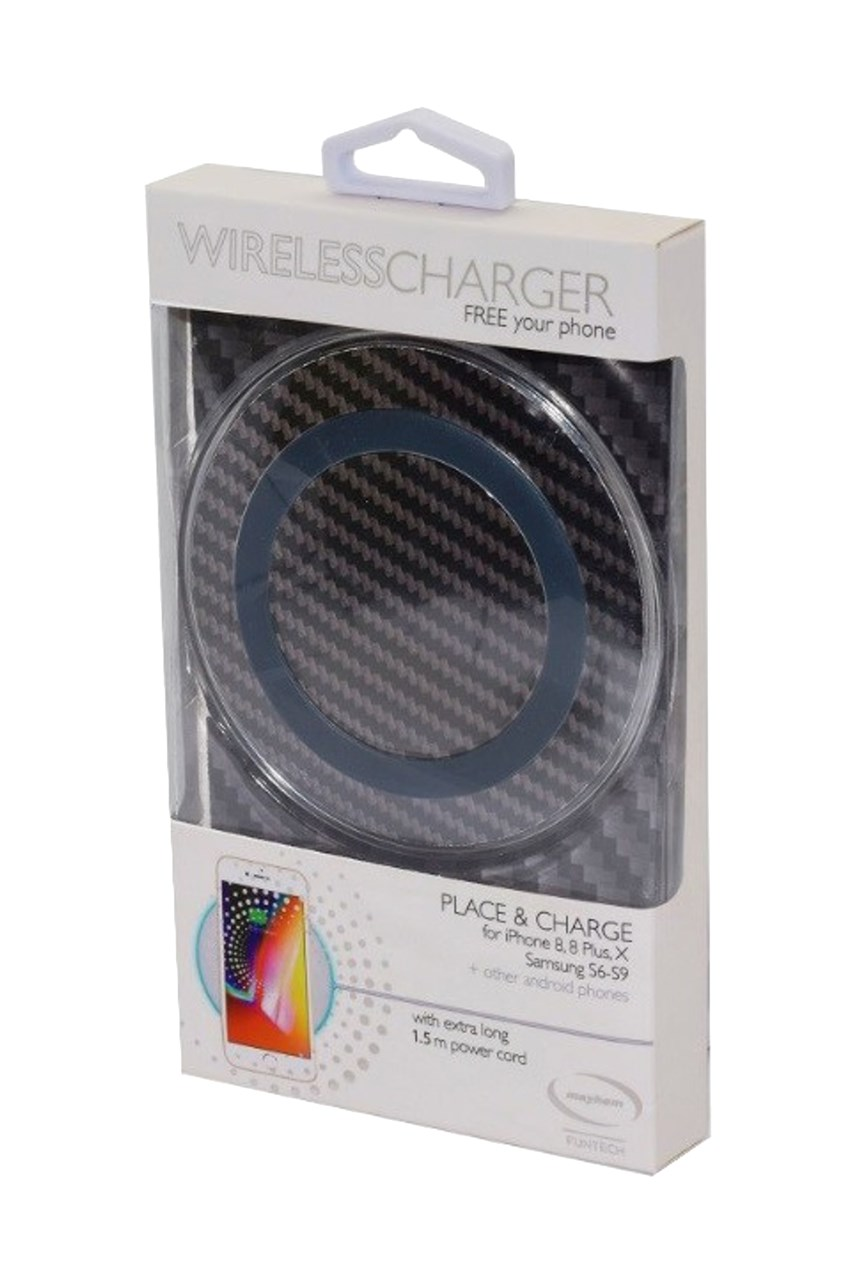 Wireless Charger - Carbon Fibre