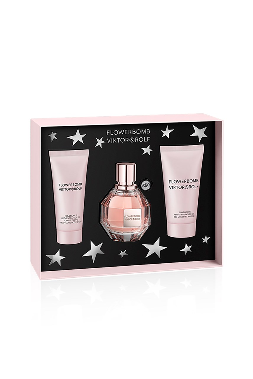 Flowerbomb 50ml Eau de Parfum Fragrance 3-Piece Gift Set