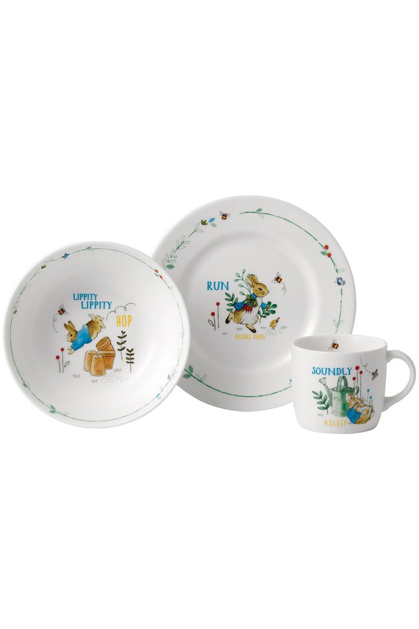 Peter Rabbit Blue 3 Piece Set