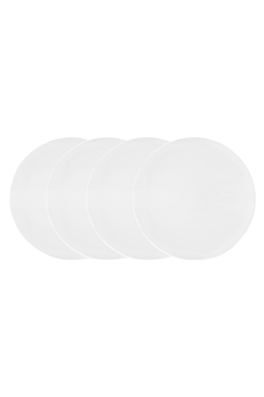 Vera Wang Perfect White Plate 20cm - Set of 4