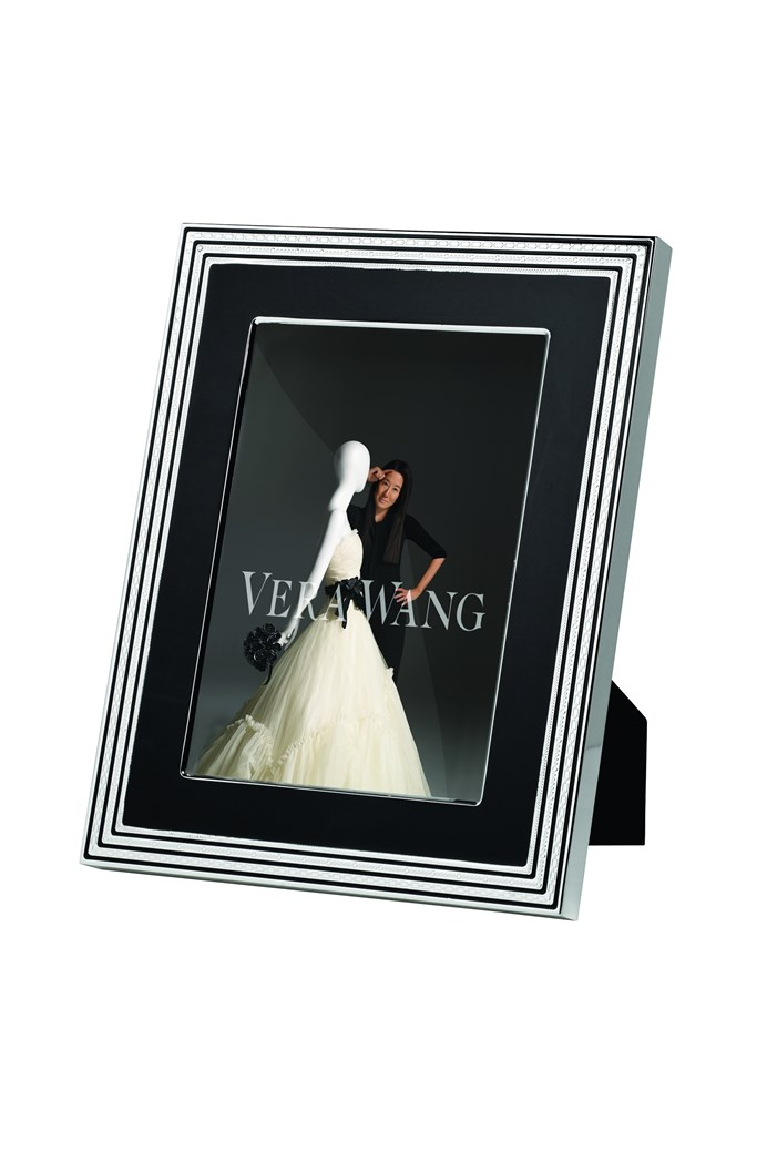 With Love Noir Portrait Frame 8 X 10 Vera Wang By Wedgwood