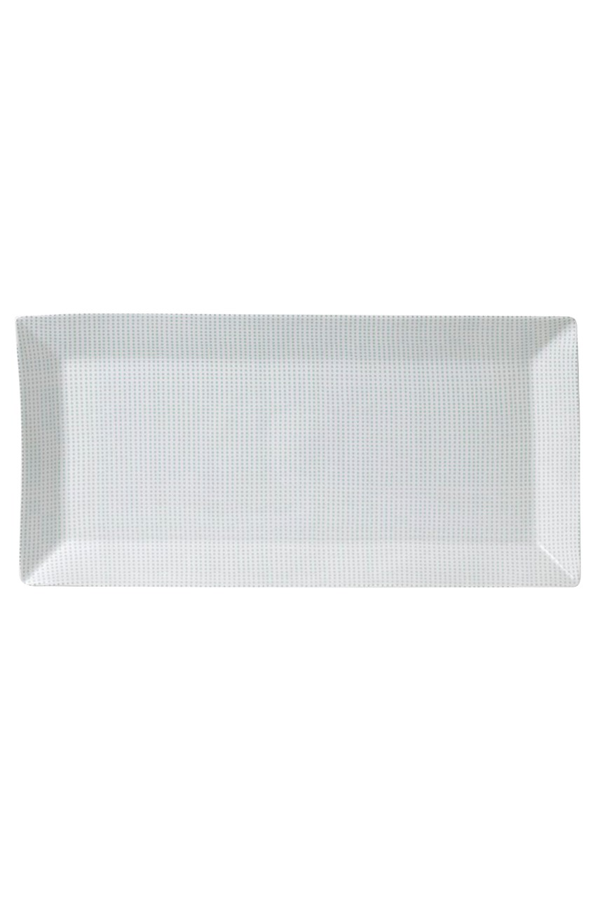 Pacific Mint Dots Serving Tray - 40cm