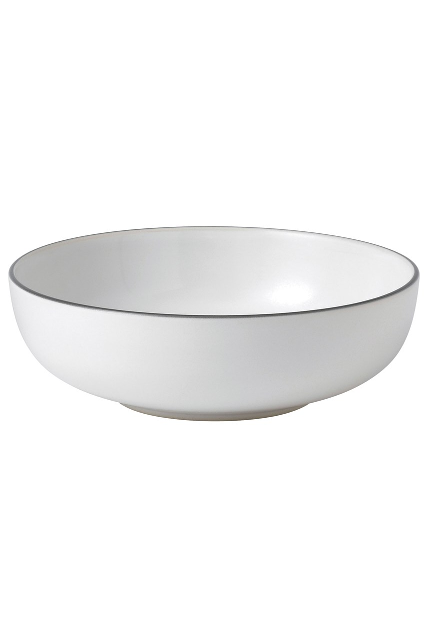 Bread Street White Bowl 17cm